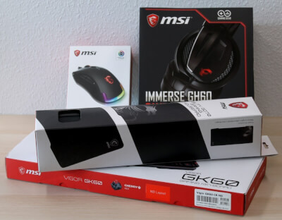 MSI Gaming Bundle