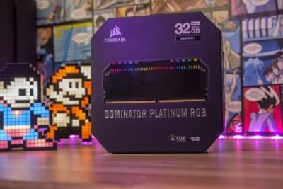 Corsair Dominator Platinum RGB 3600 MHz DDR4
