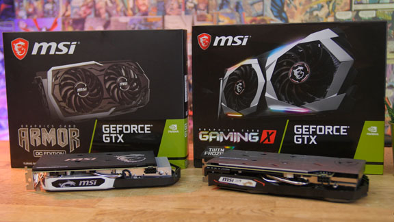 MSI Grafikkarten Test GTX 1660 Ti Gaming X und MSI Geforce GTX 1660 Ti Armor OC